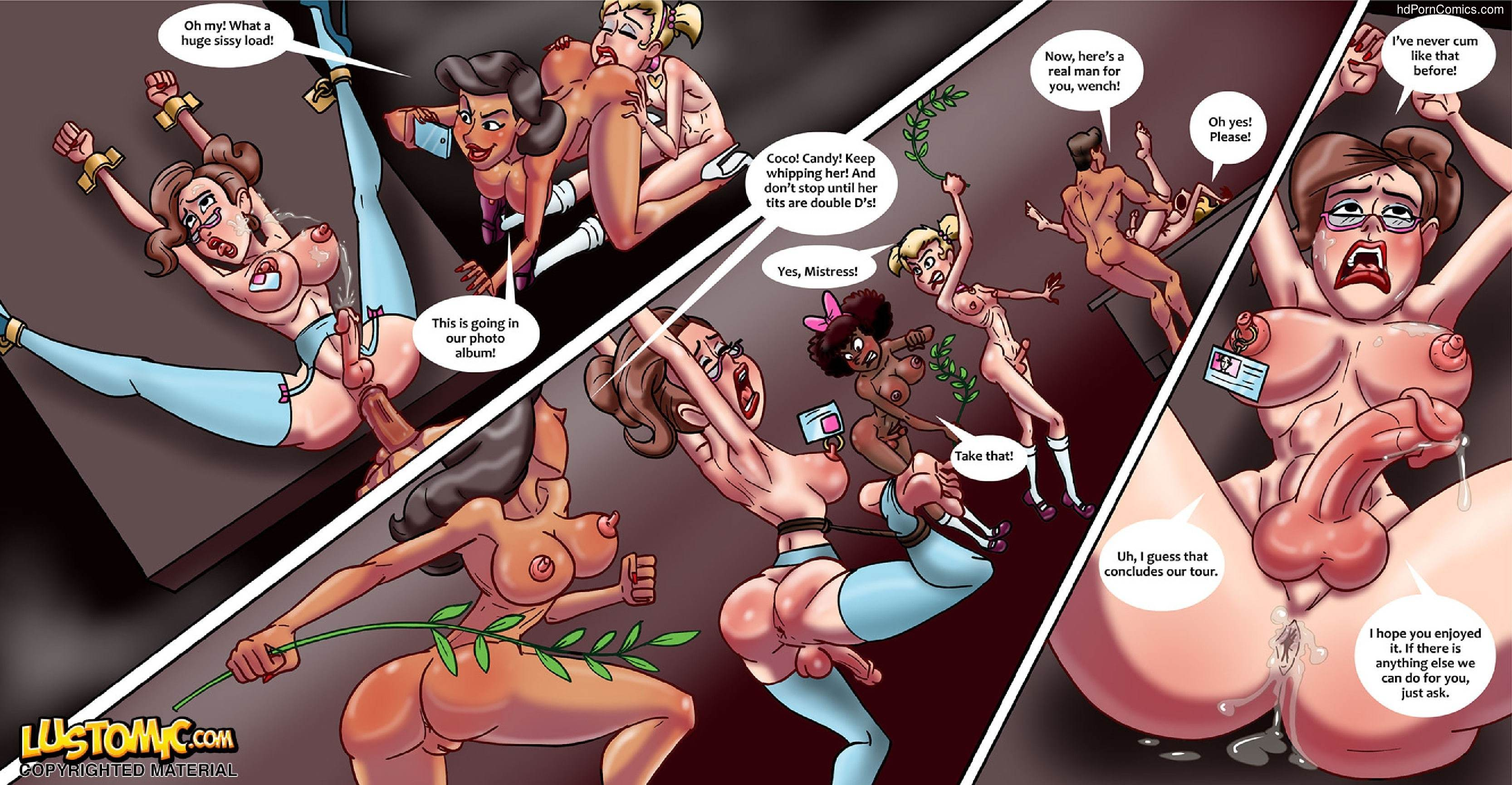 Xxx comics-Lustomic- Sissy Island19 free sex comic