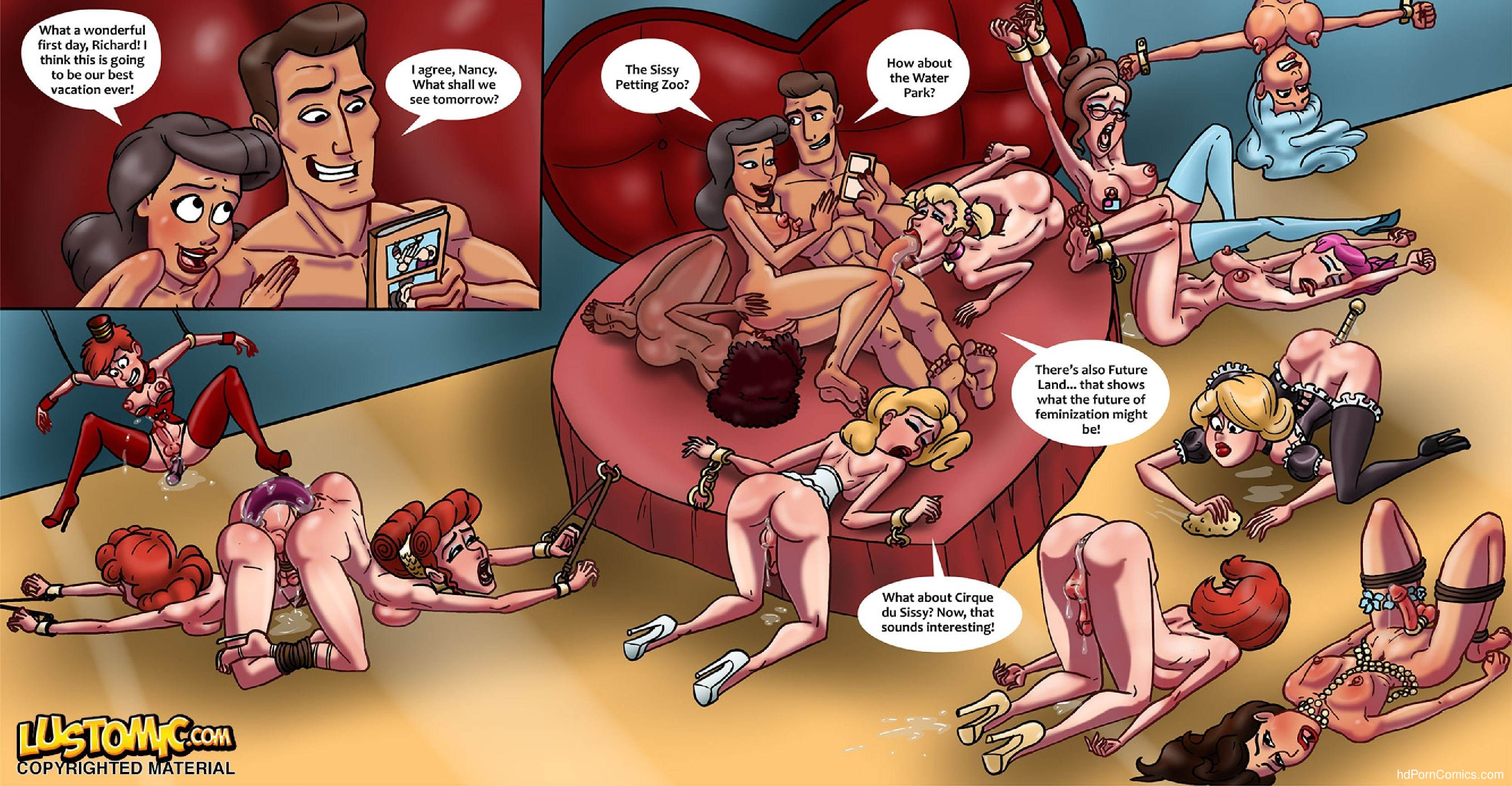 Xxx comics-Lustomic- Sissy Island20 free sex comic