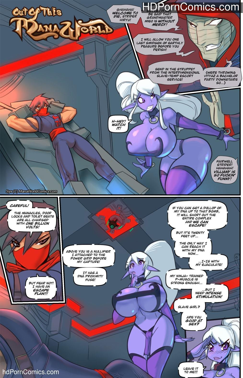 Xxx comics-ManaWorld- Out of this free Porn Comic