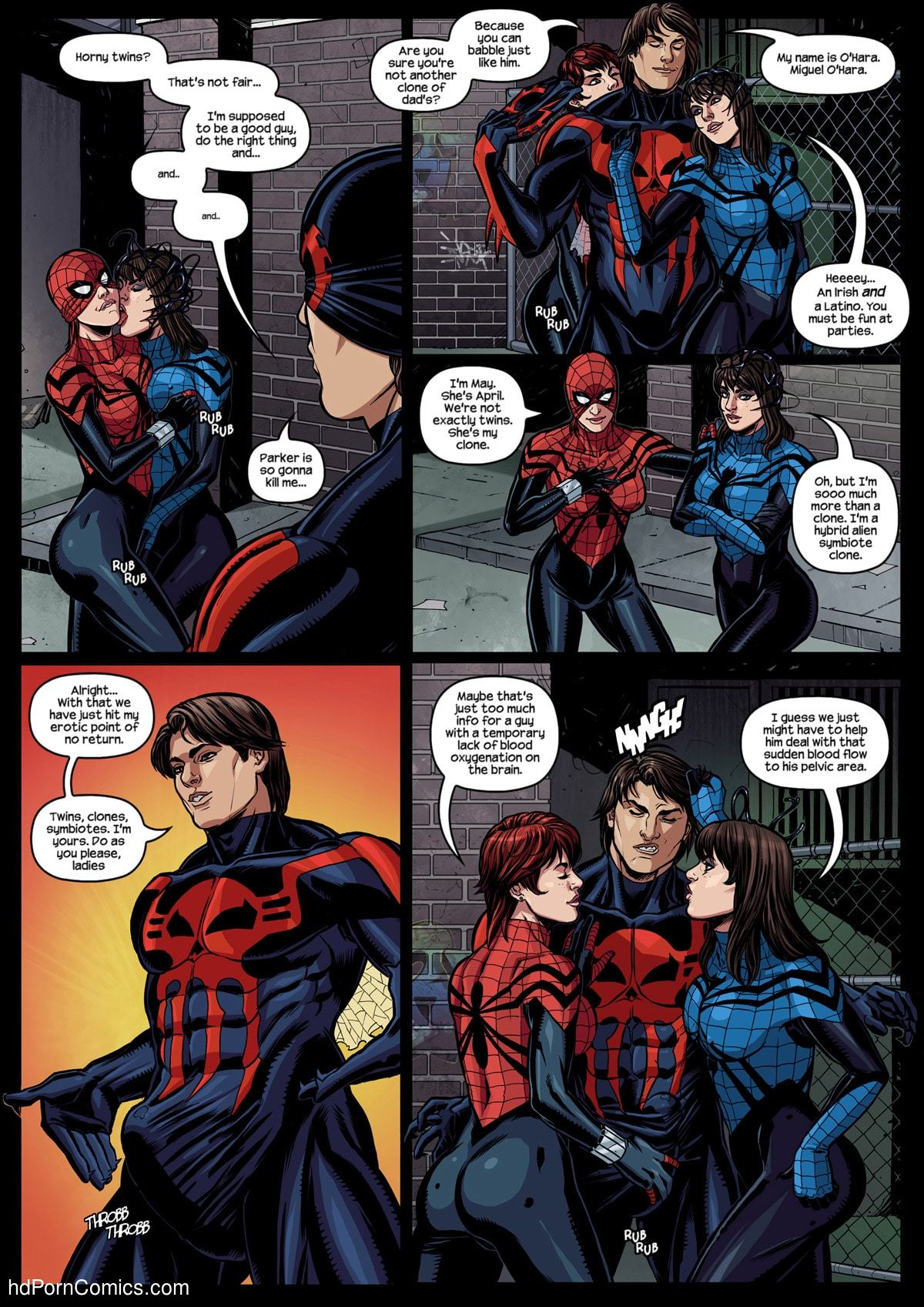 Xxx comics-Spider Verse-Spider Girl6 free sex comic