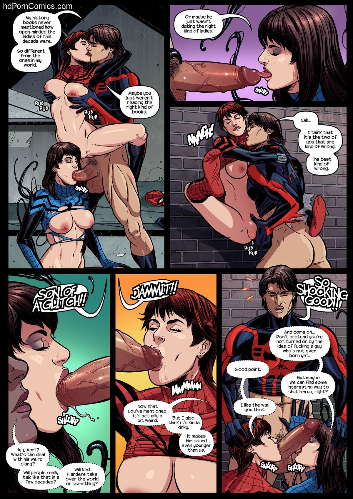 Xxx comics-Spider Verse-Spider Girl7 free sex comic