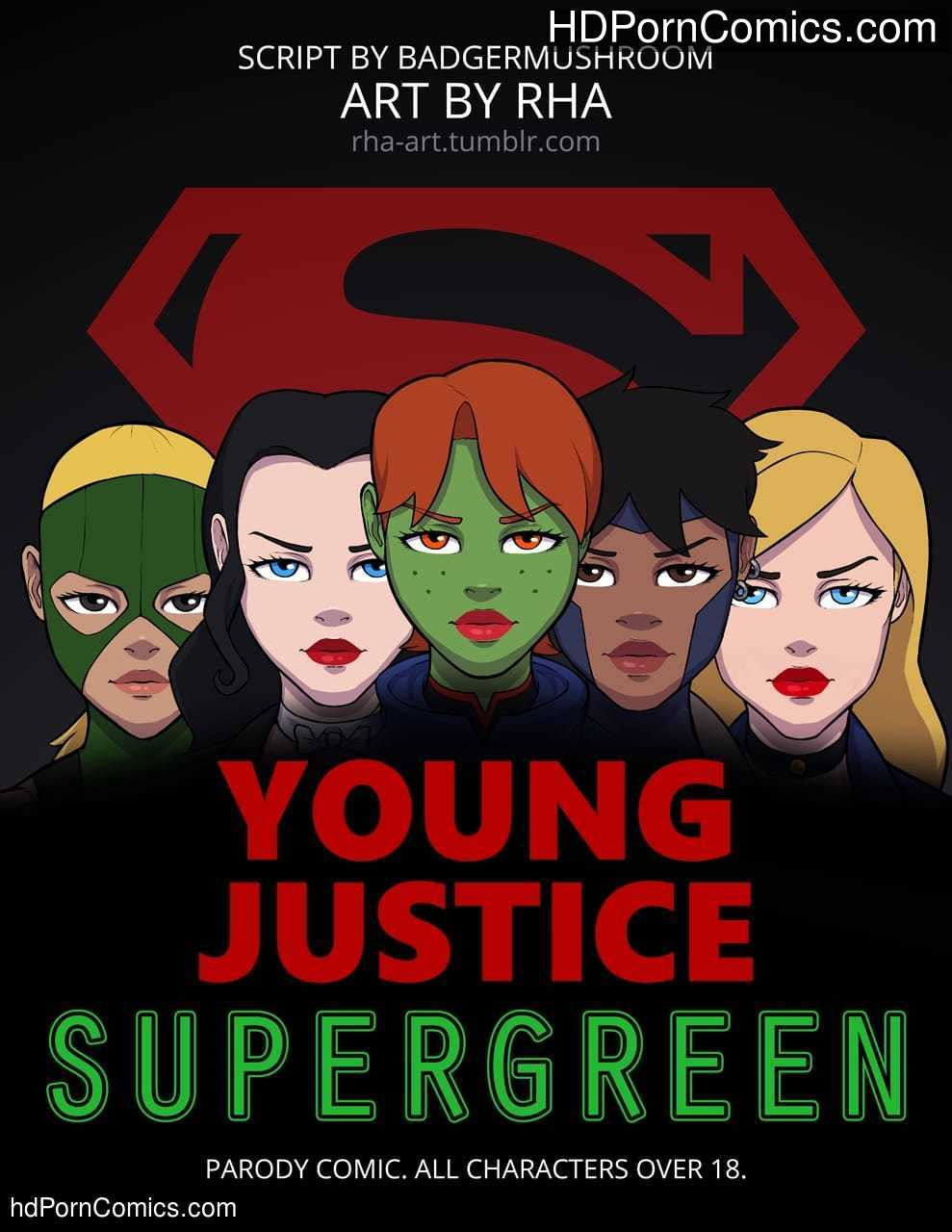 Xxx comics-Supergreen- Young Justice1 free sex comic