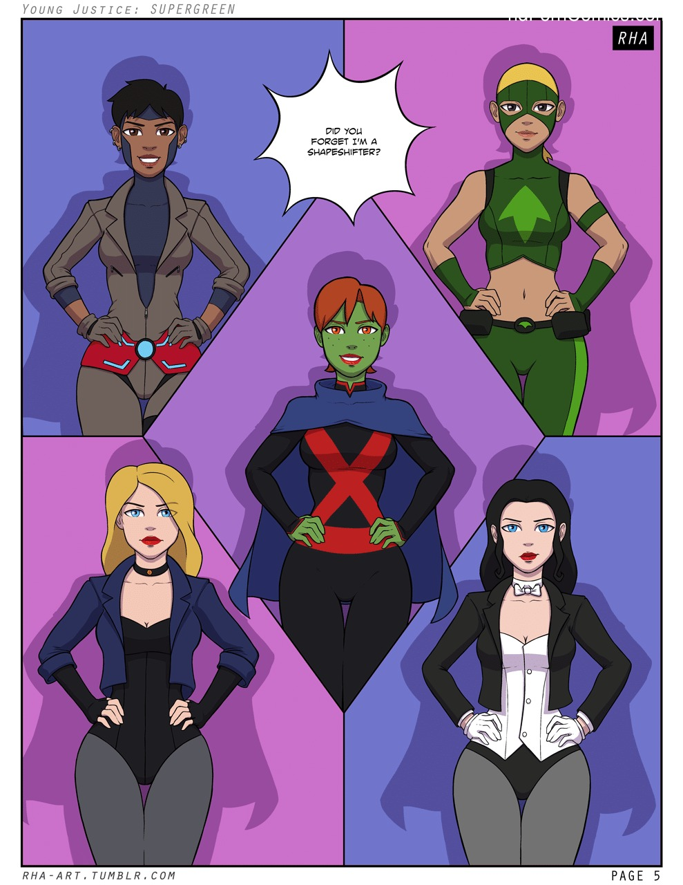 Xxx comics-Supergreen- Young Justice6 free sex comic