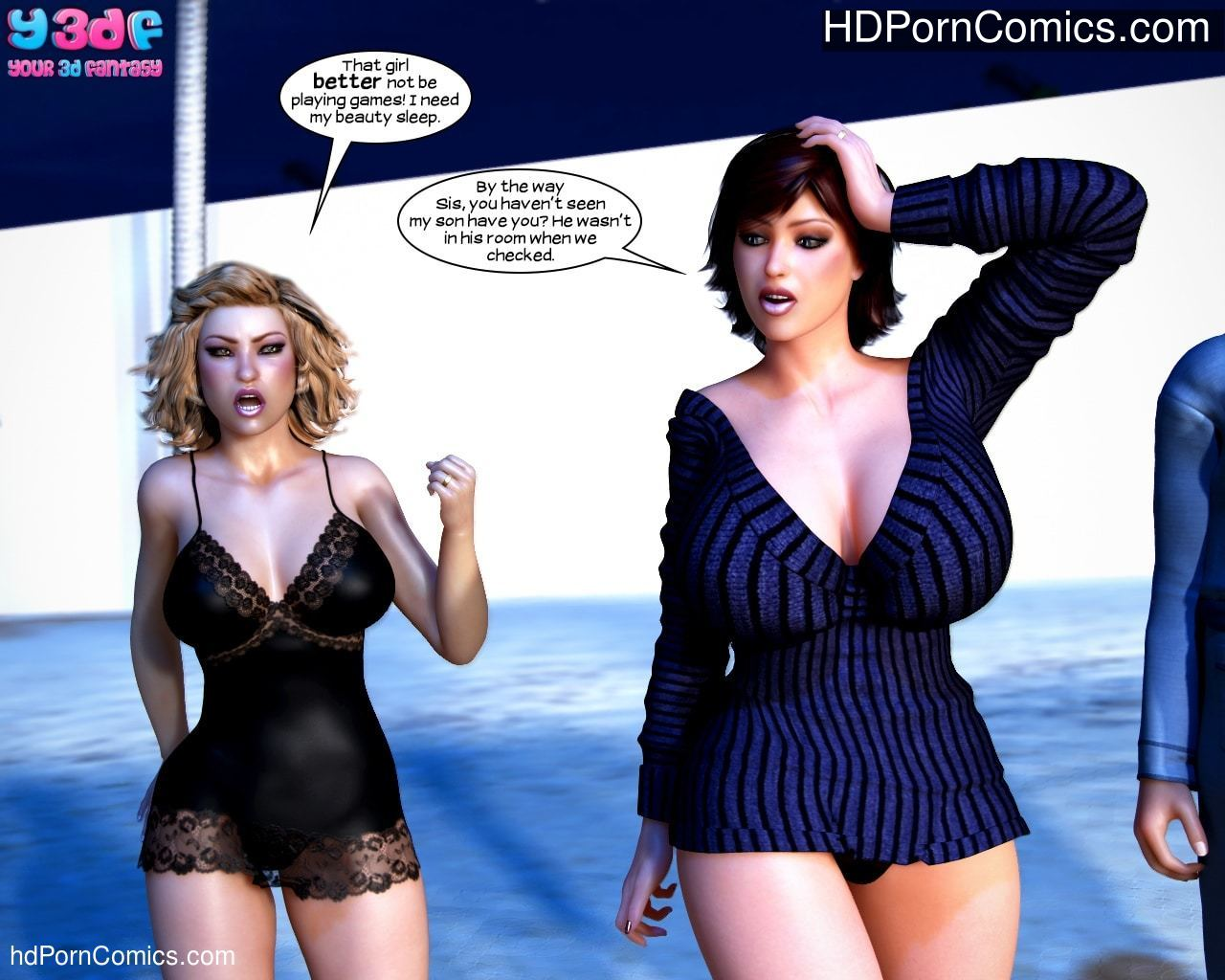 Y3DF – Who Did It 131 free sex comic