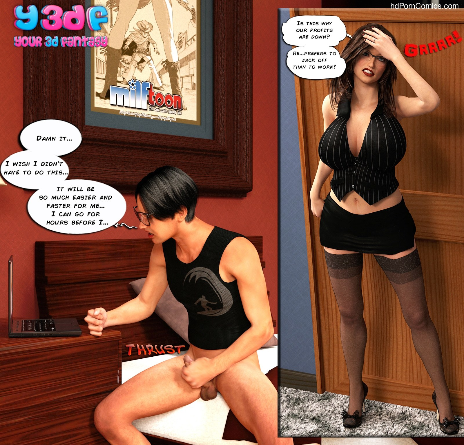 Y3DF - The Seeker16 free sex comic