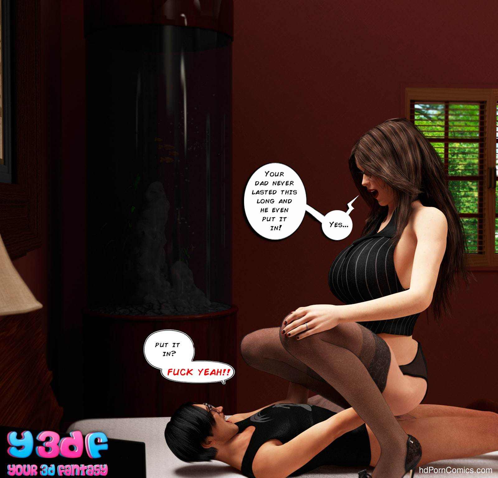 Y3DF - The Seeker44 free sex comic