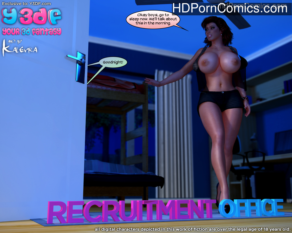 Y3DF- Recruitment Office free Porn Comic