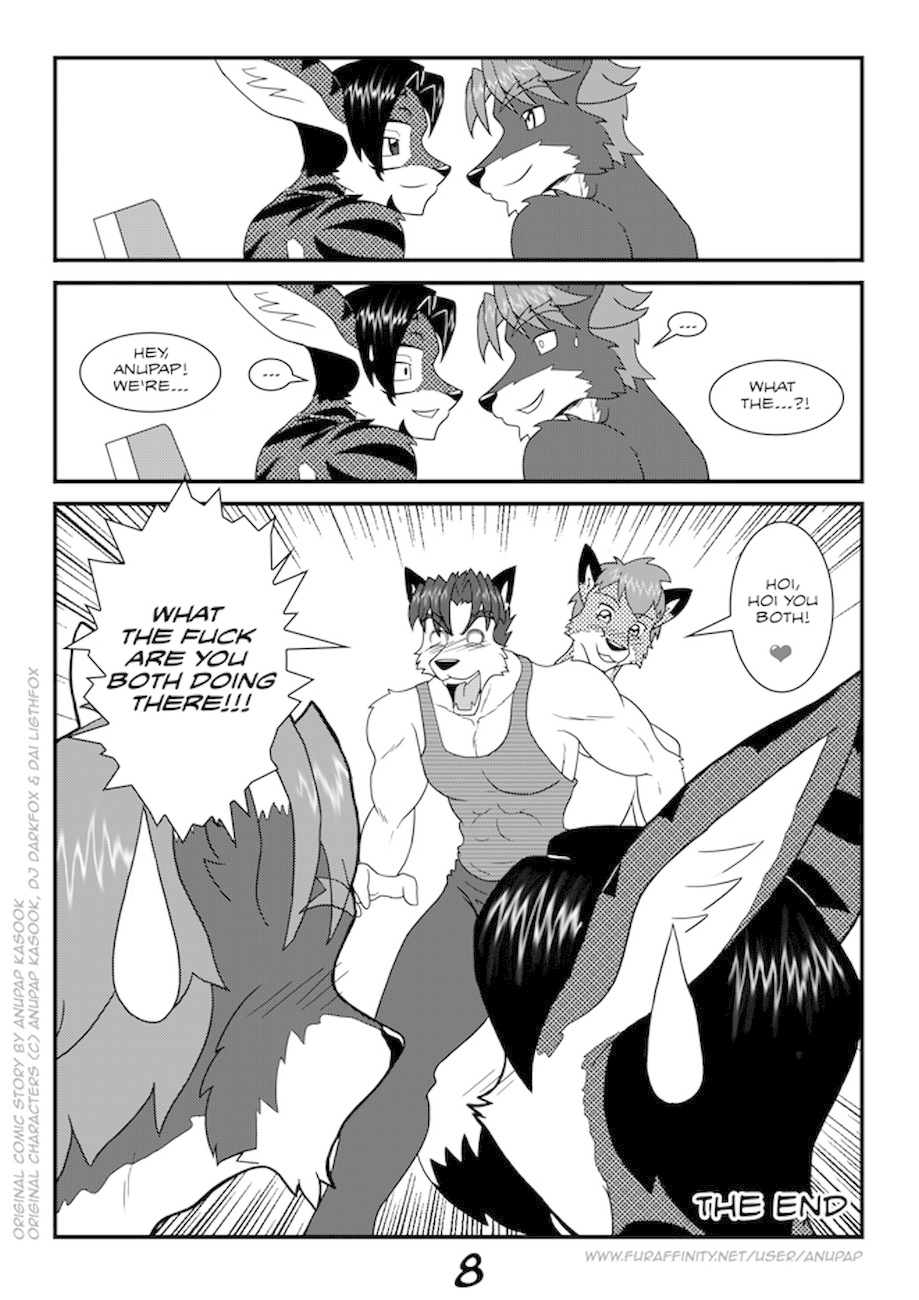 Yiff Workout Sex Comic