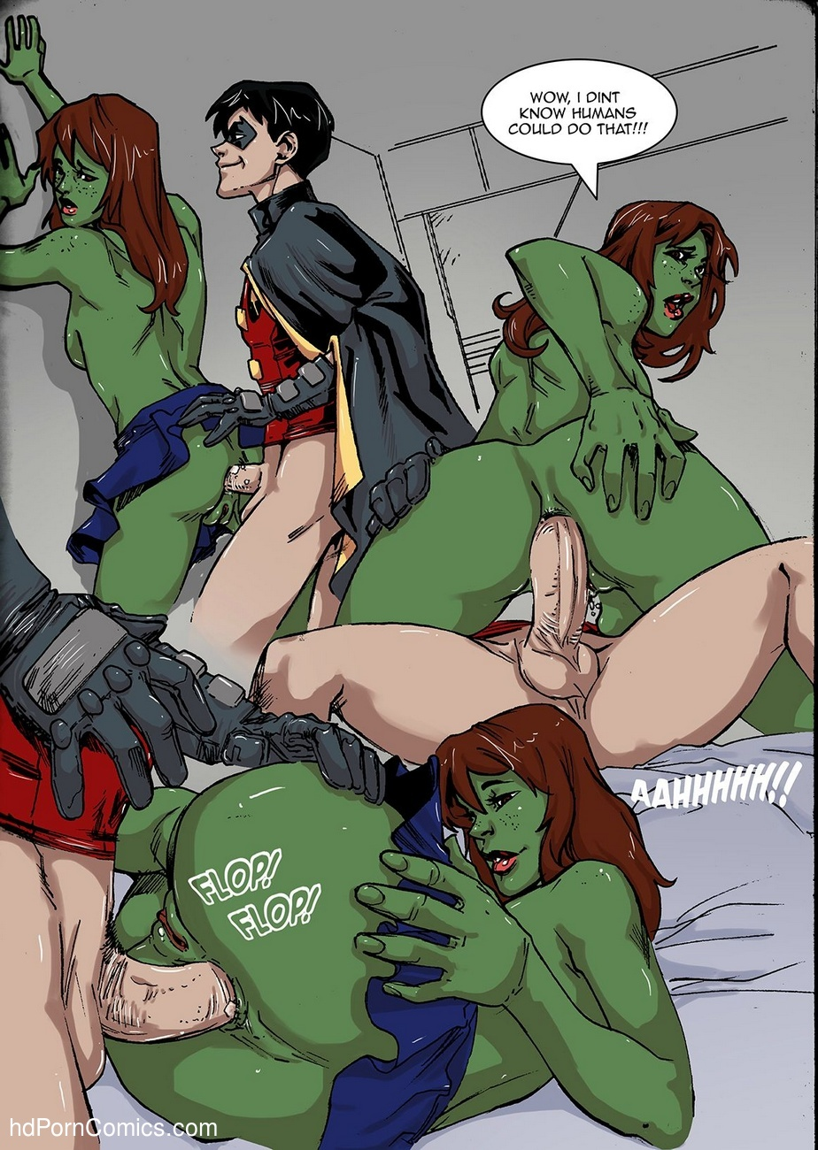 Young Justice 9 free sex comic