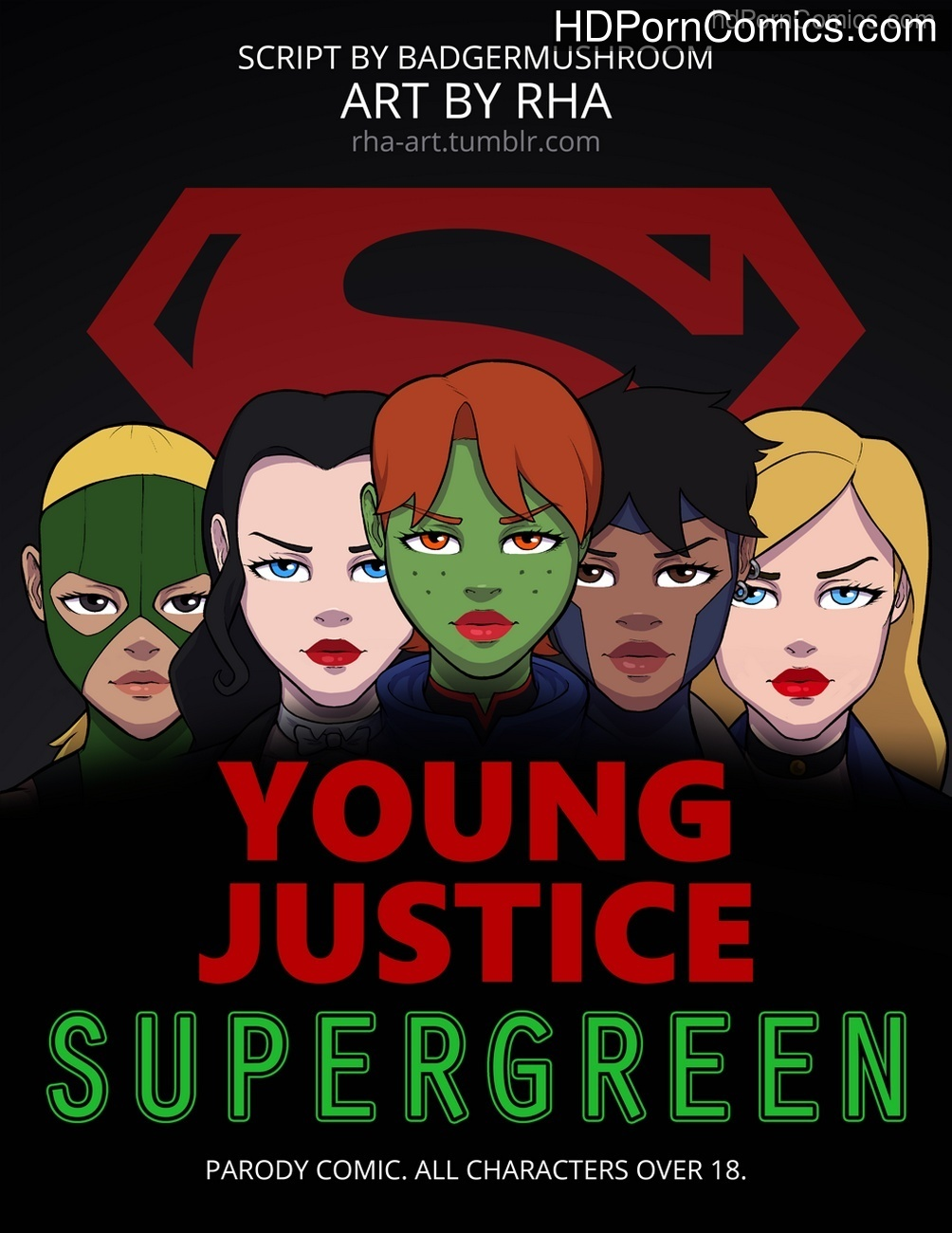 Young Justice – Supergreen Sex Comic