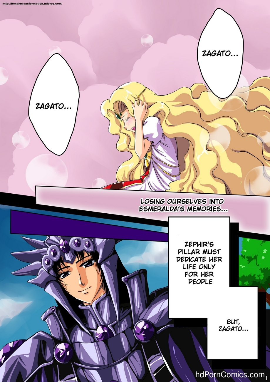 Zephir's Dark Secret 2 free sex comic