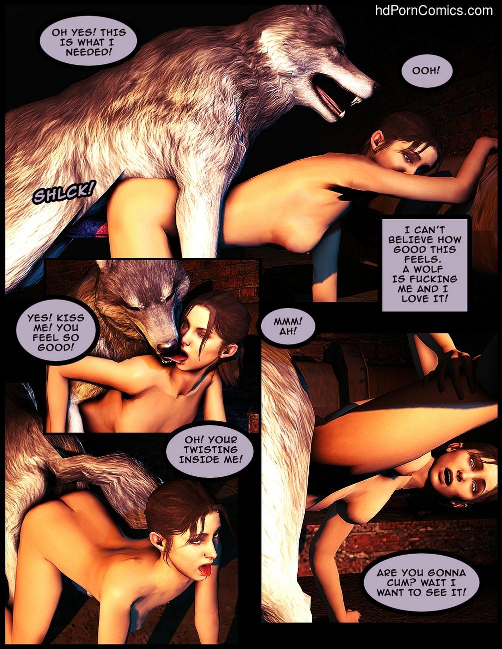 Wolf beastiality