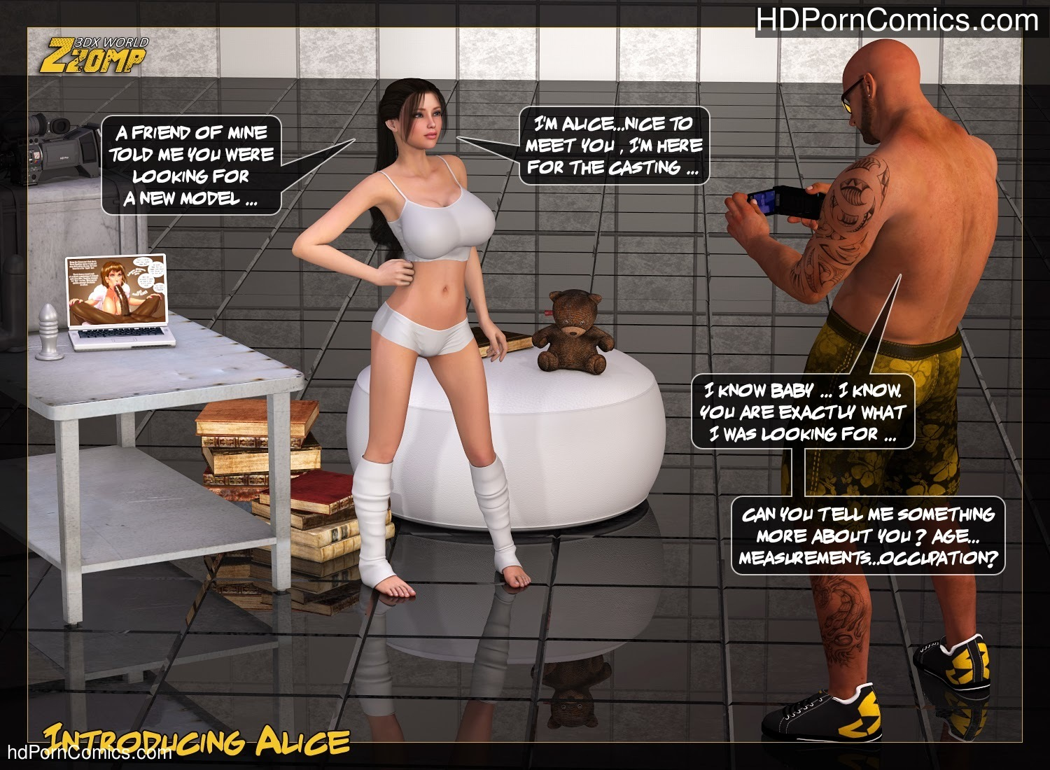 Zzomp – Introducing Alice1 free sex comic
