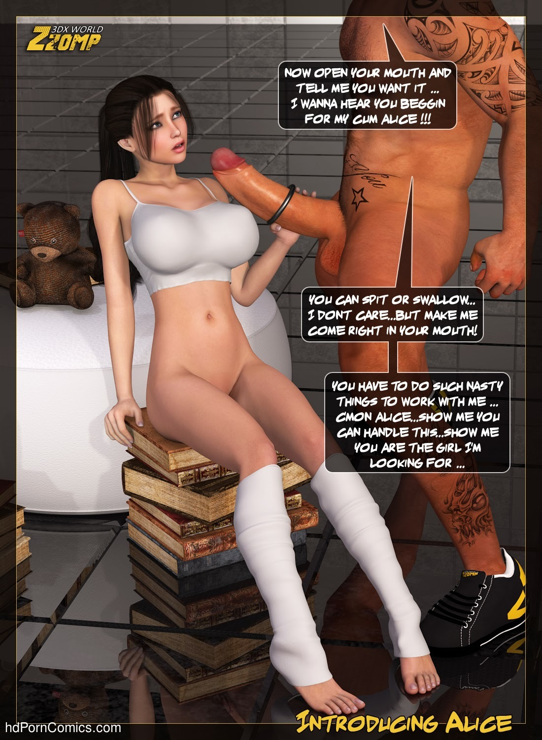 Zzomp – Introducing Alice14 free sex comic