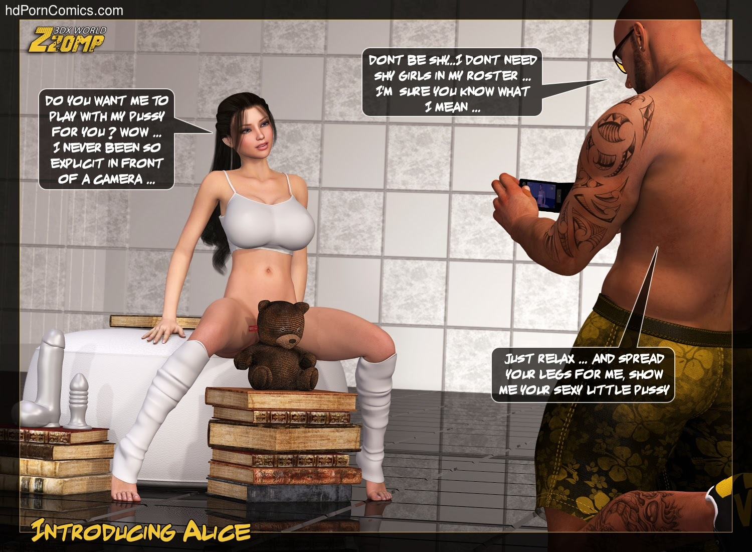 Zzomp – Introducing Alice5 free sex comic