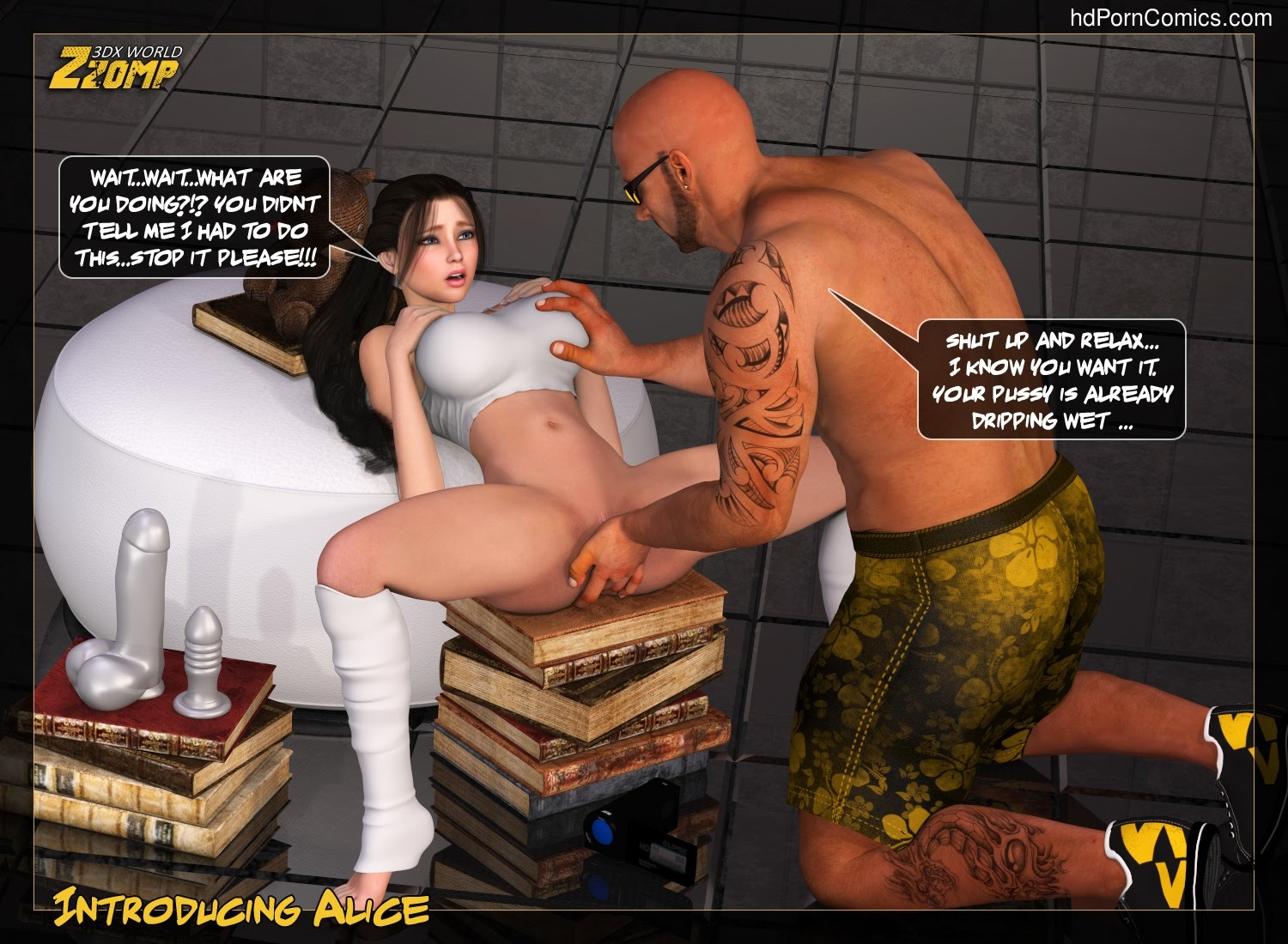 Zzomp – Introducing Alice7 free sex comic