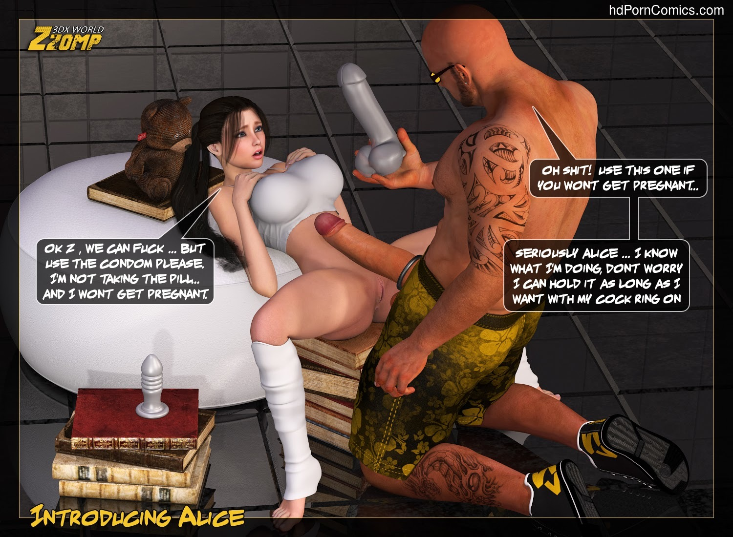 Zzomp – Introducing Alice8 free sex comic