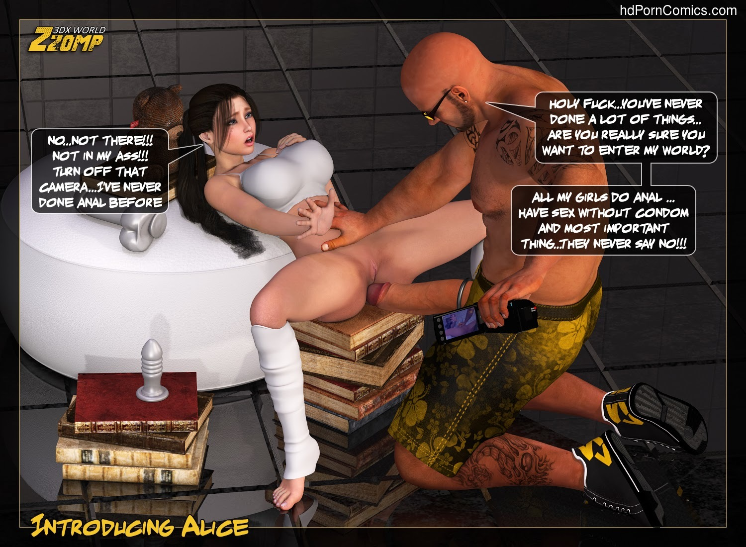 Zzomp – Introducing Alice9 free sex comic