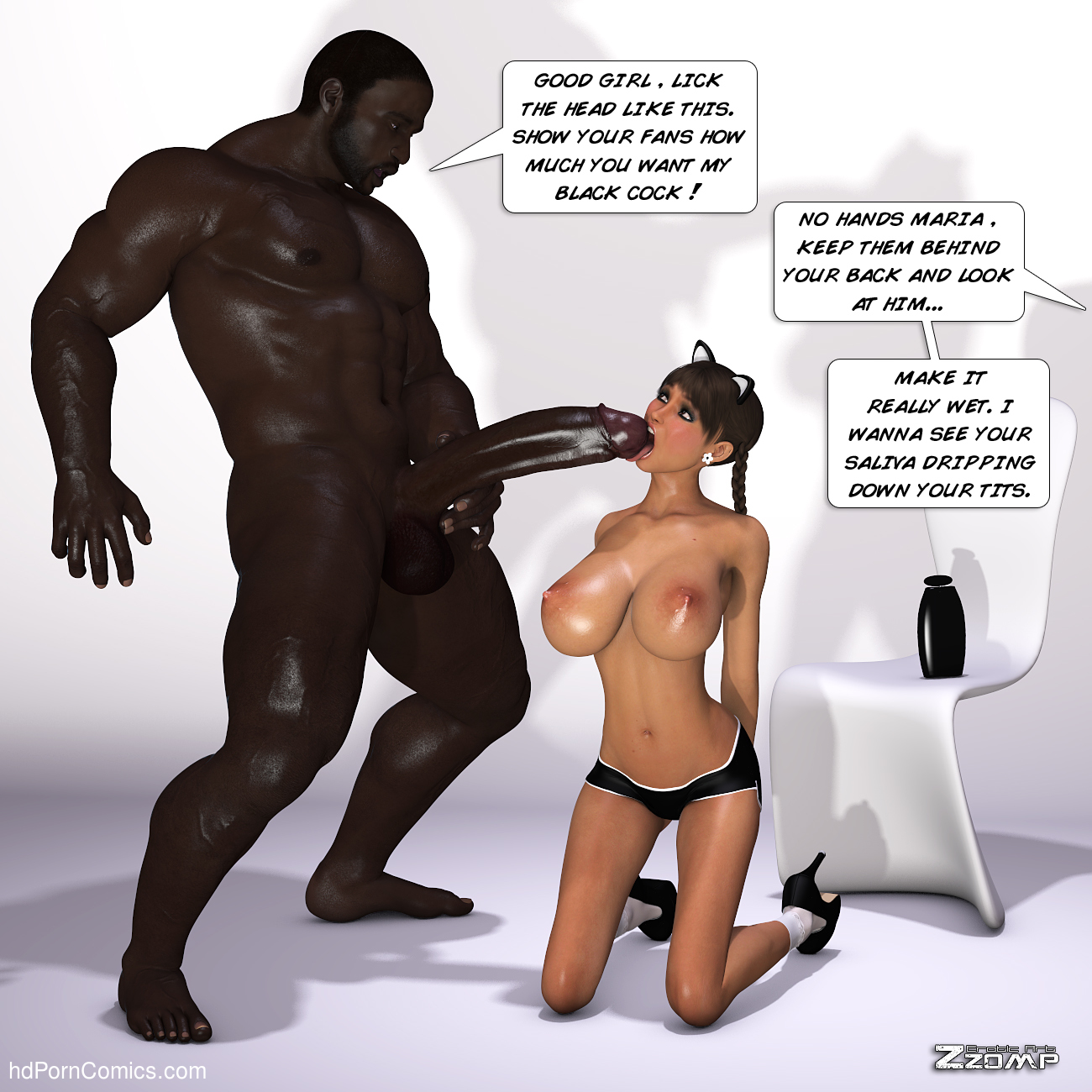 Zzomp – Maria First Interracial Scene12 free sex comic