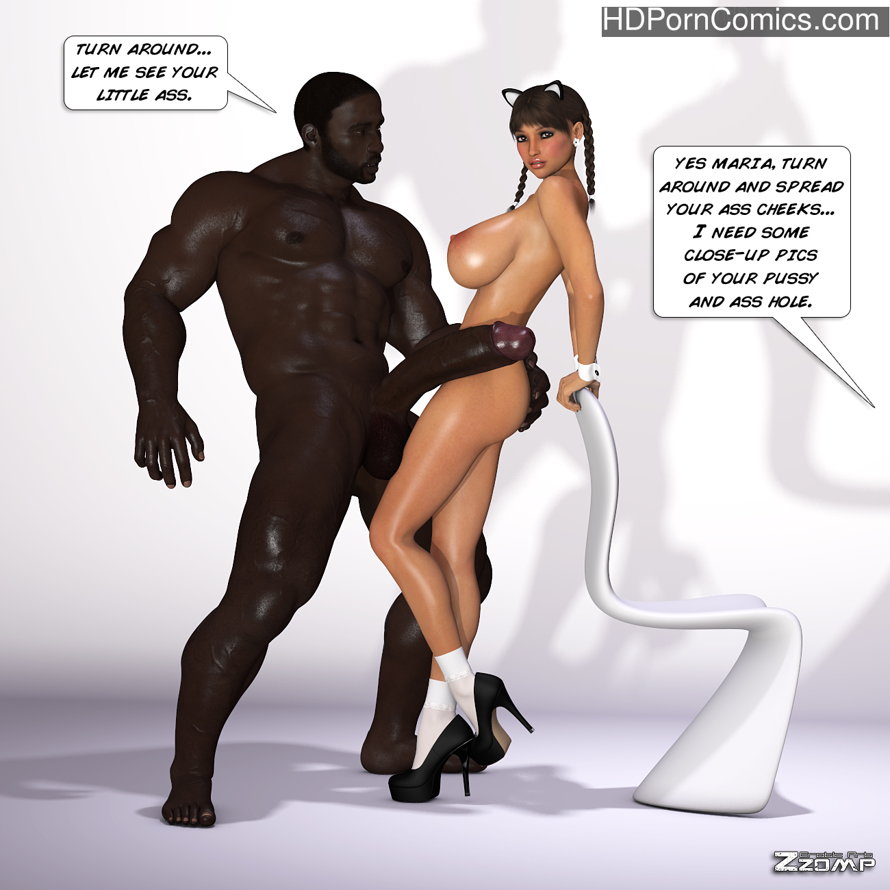 Zzomp – Maria First Interracial Scene21 free sex comic
