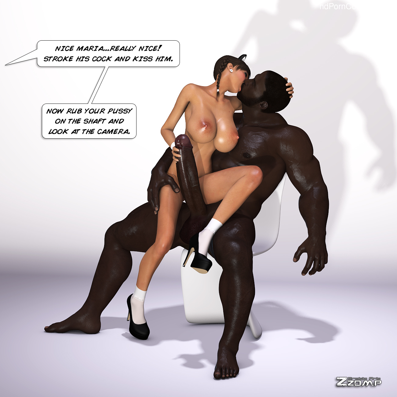 Zzomp – Maria First Interracial Scene32 free sex comic
