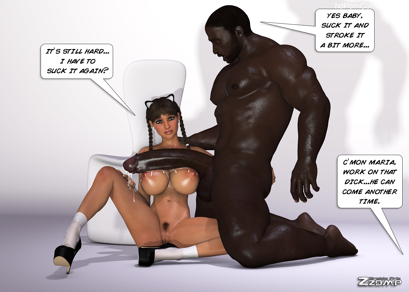 Zzomp – Maria First Interracial Scene39 free sex comic