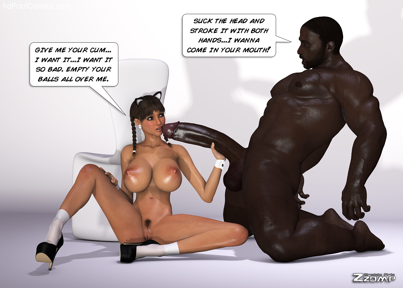 Zzomp – Maria First Interracial Scene40 free sex comic