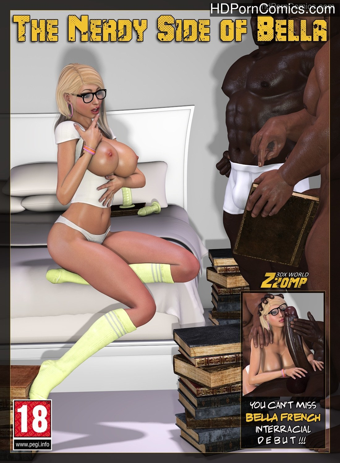 Zzomp -The Nerdy Side of Bella free Cartoon Porn Comic
