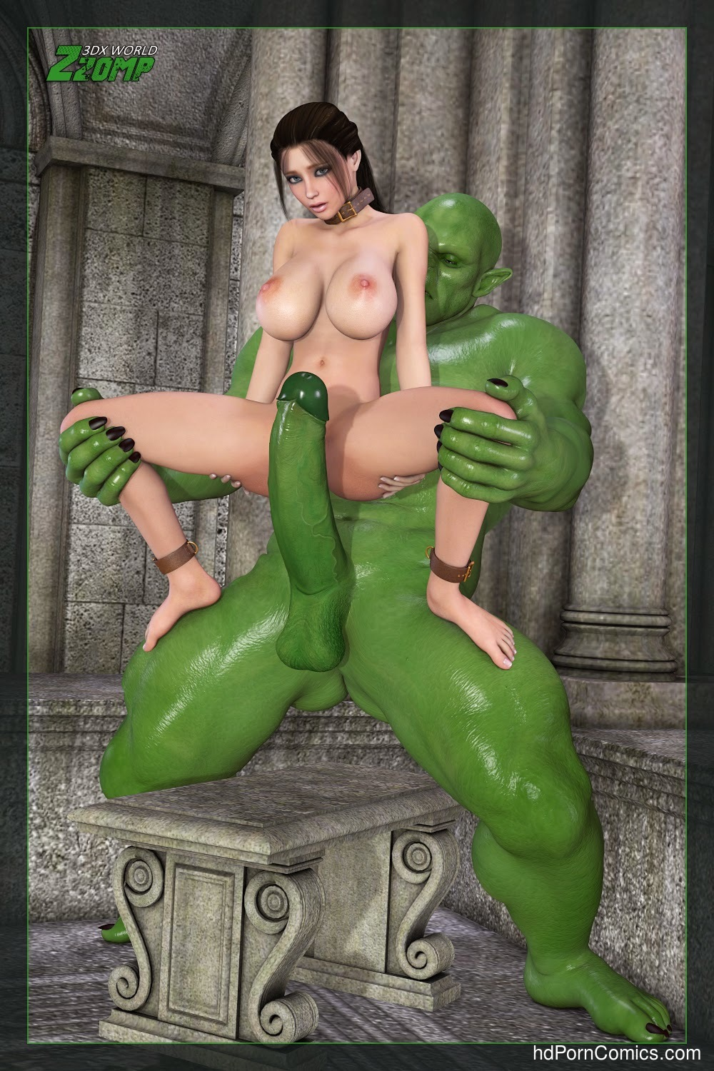Zzomp- Alice Abusing the Slave13 free sex comic