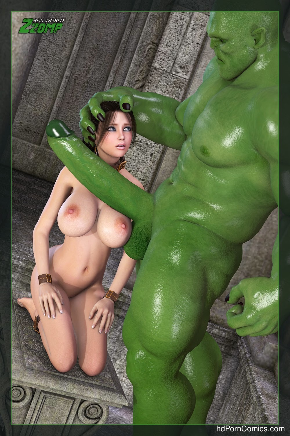 Zzomp- Alice Abusing the Slave3 free sex comic