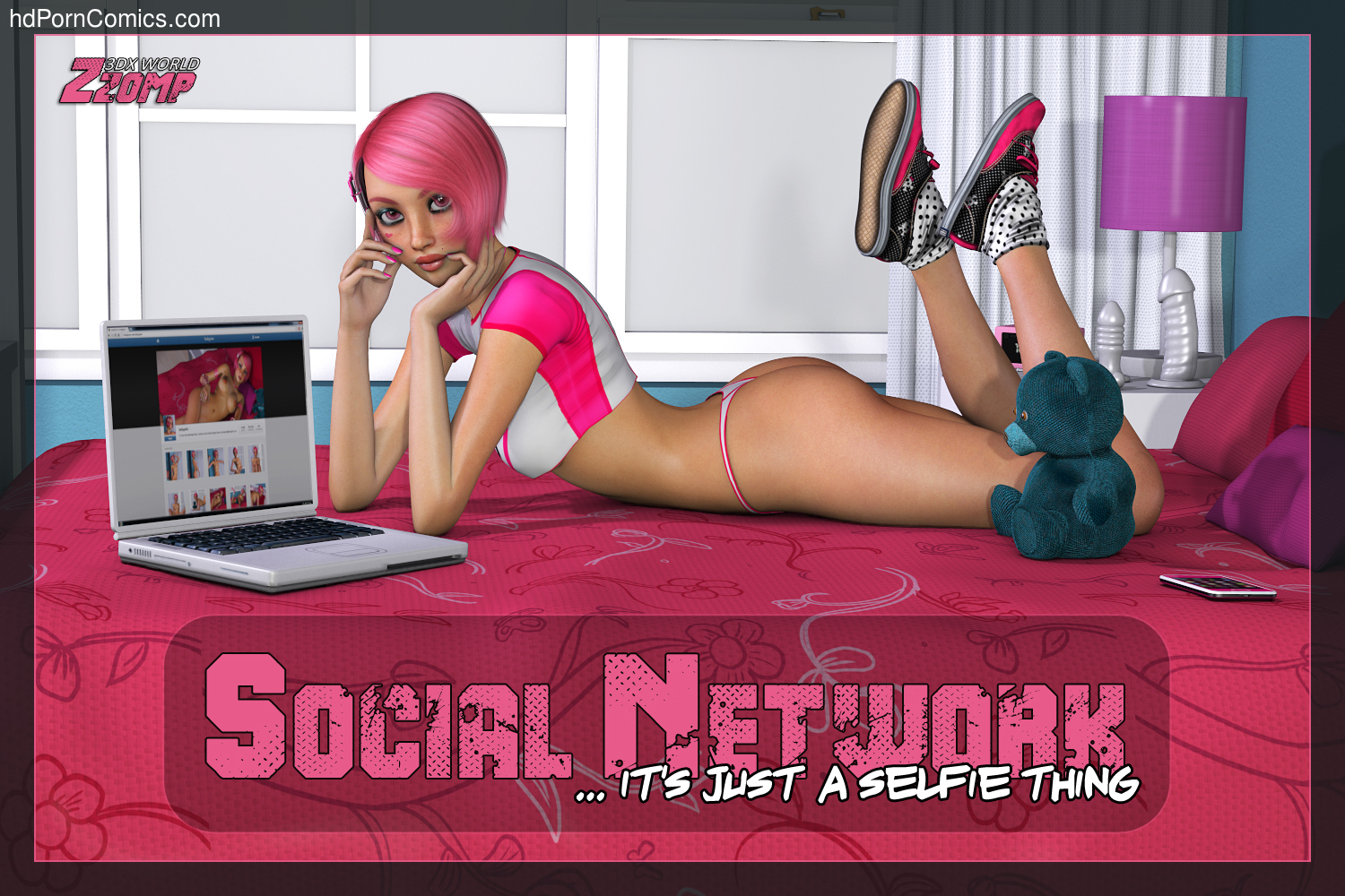 Zzomp- Dolly Pink Social Network 1-227 free sex comic