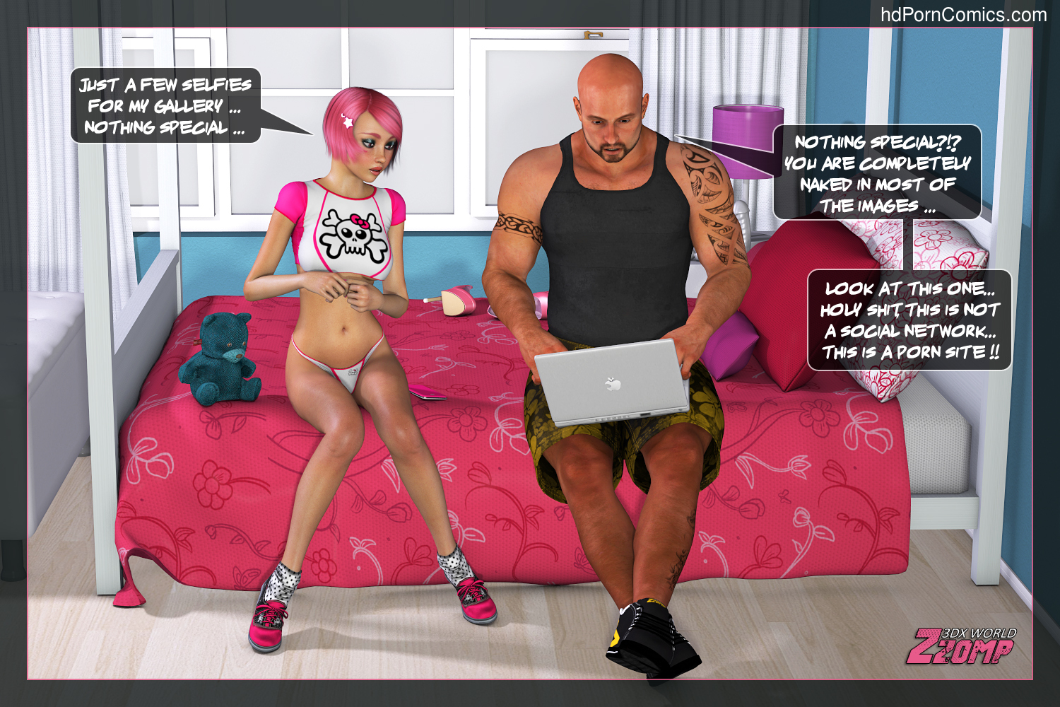 Zzomp- Dolly Pink Social Network 1-234 free sex comic