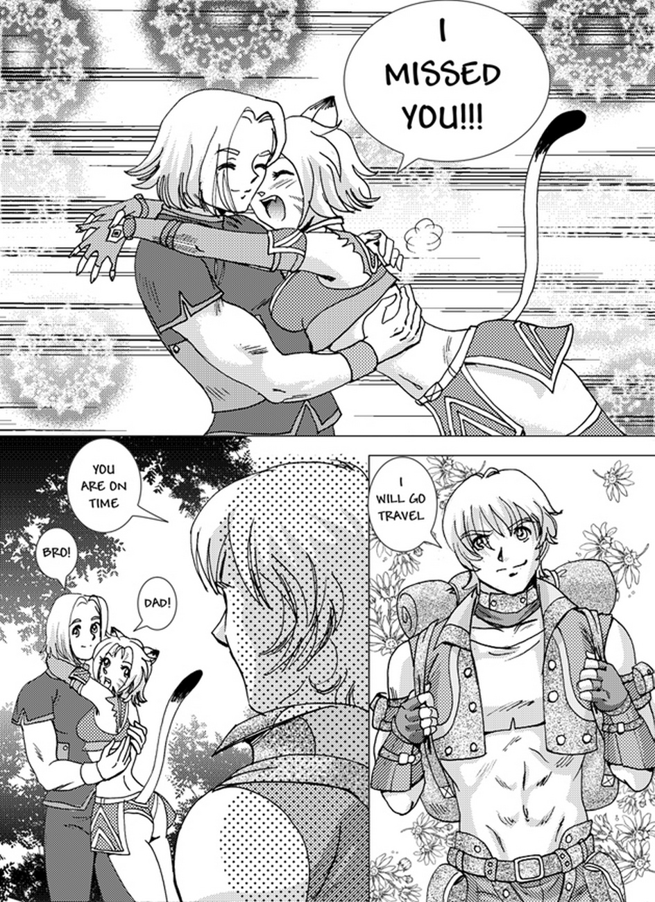 A-Day-At-The-Beach-Final-Fantasy 3 free sex comic
