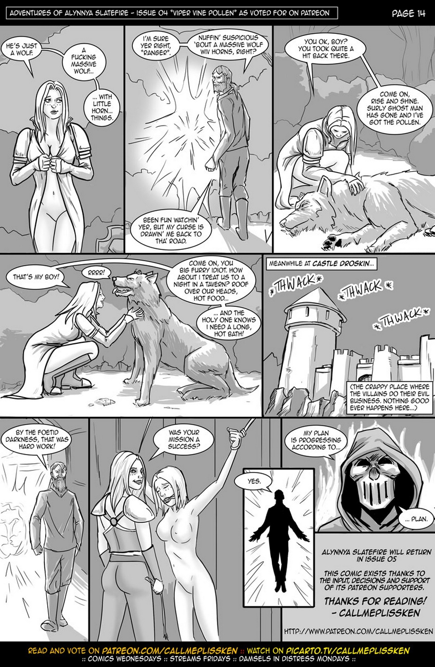 Adventures Of Alynnya Slatefire 4 comic porn