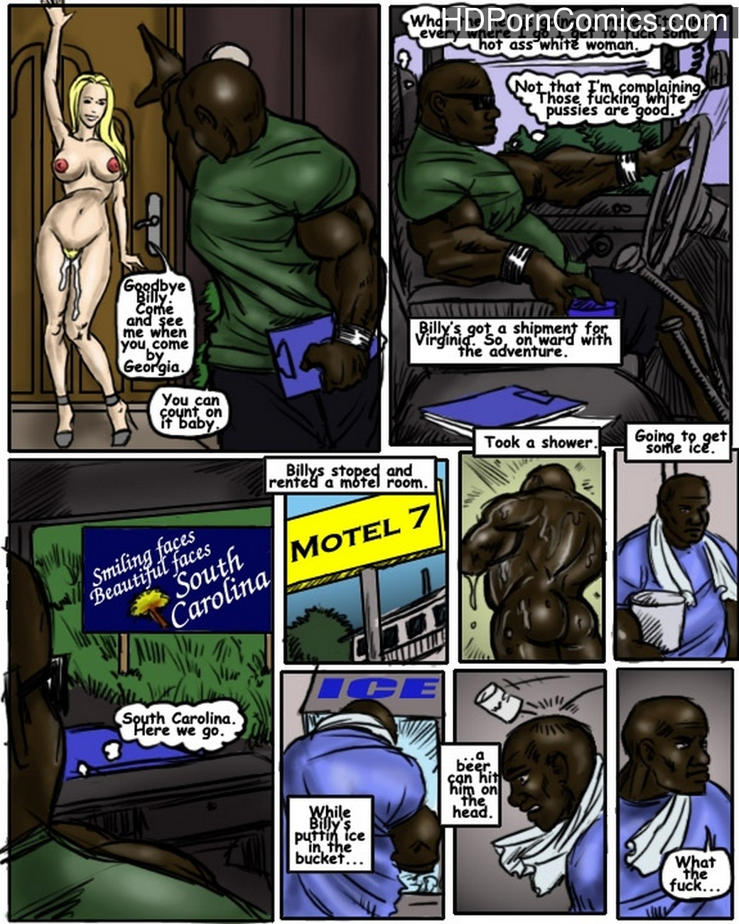 Adventures Of Big Mack 2 – Georgia comic porn