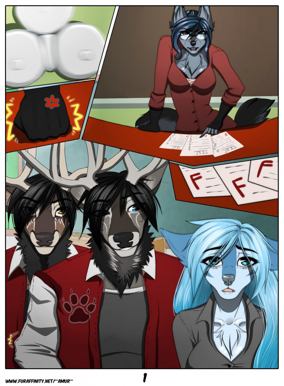 After-School-fur 2 free sex comic