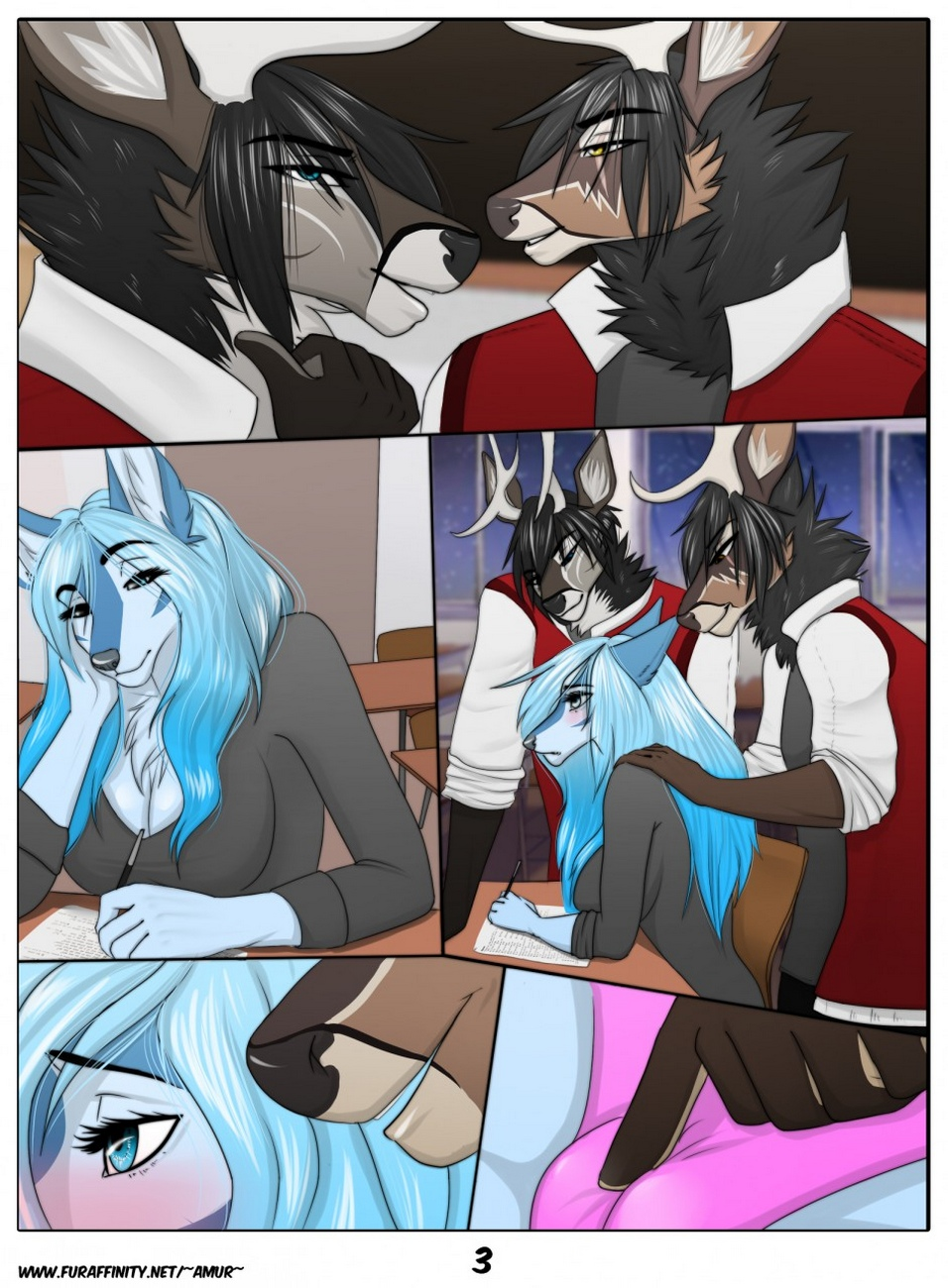 After-School-fur 4 free sex comic