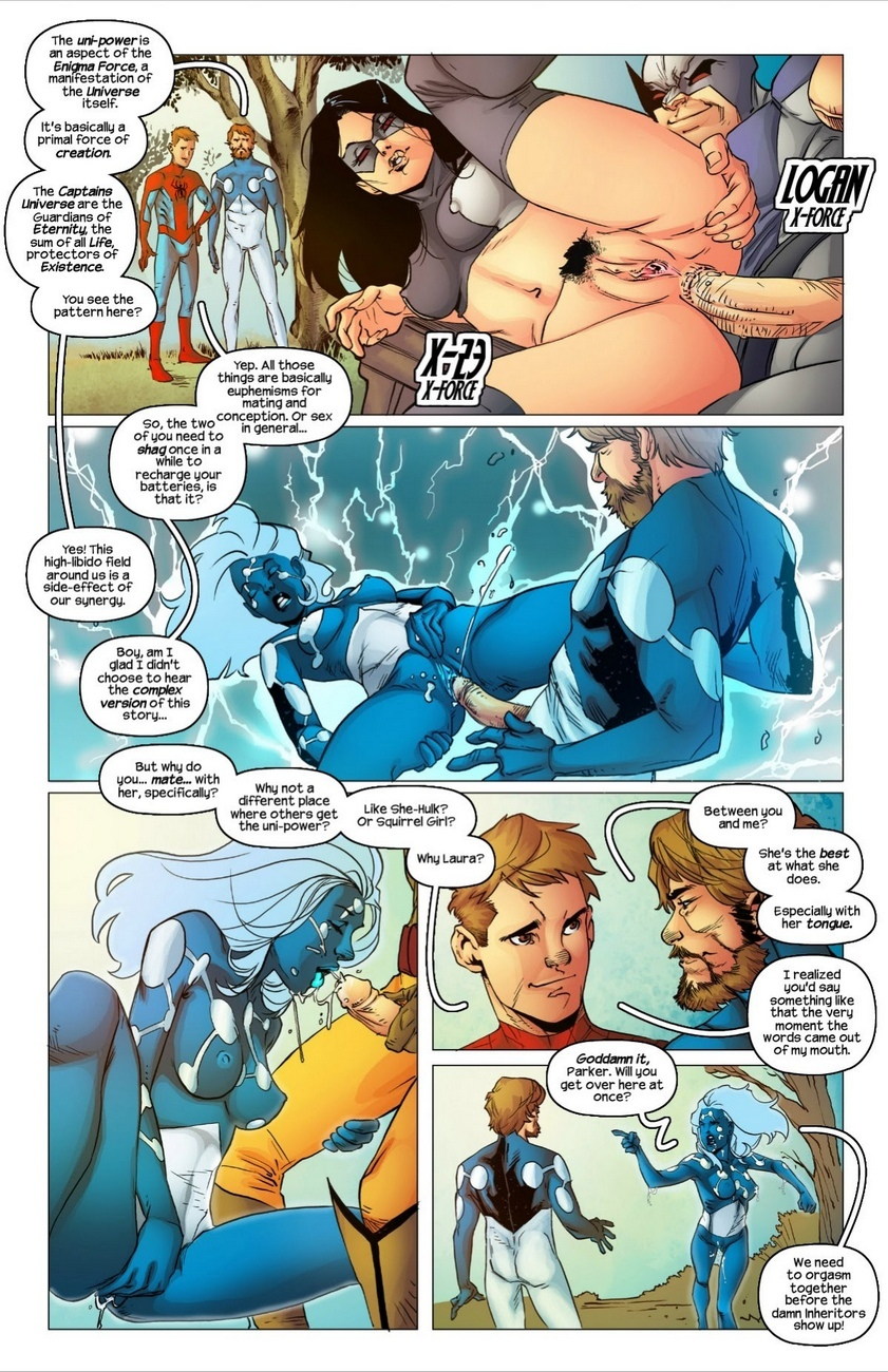 All-Sex-Wolververse 4 free sex comic