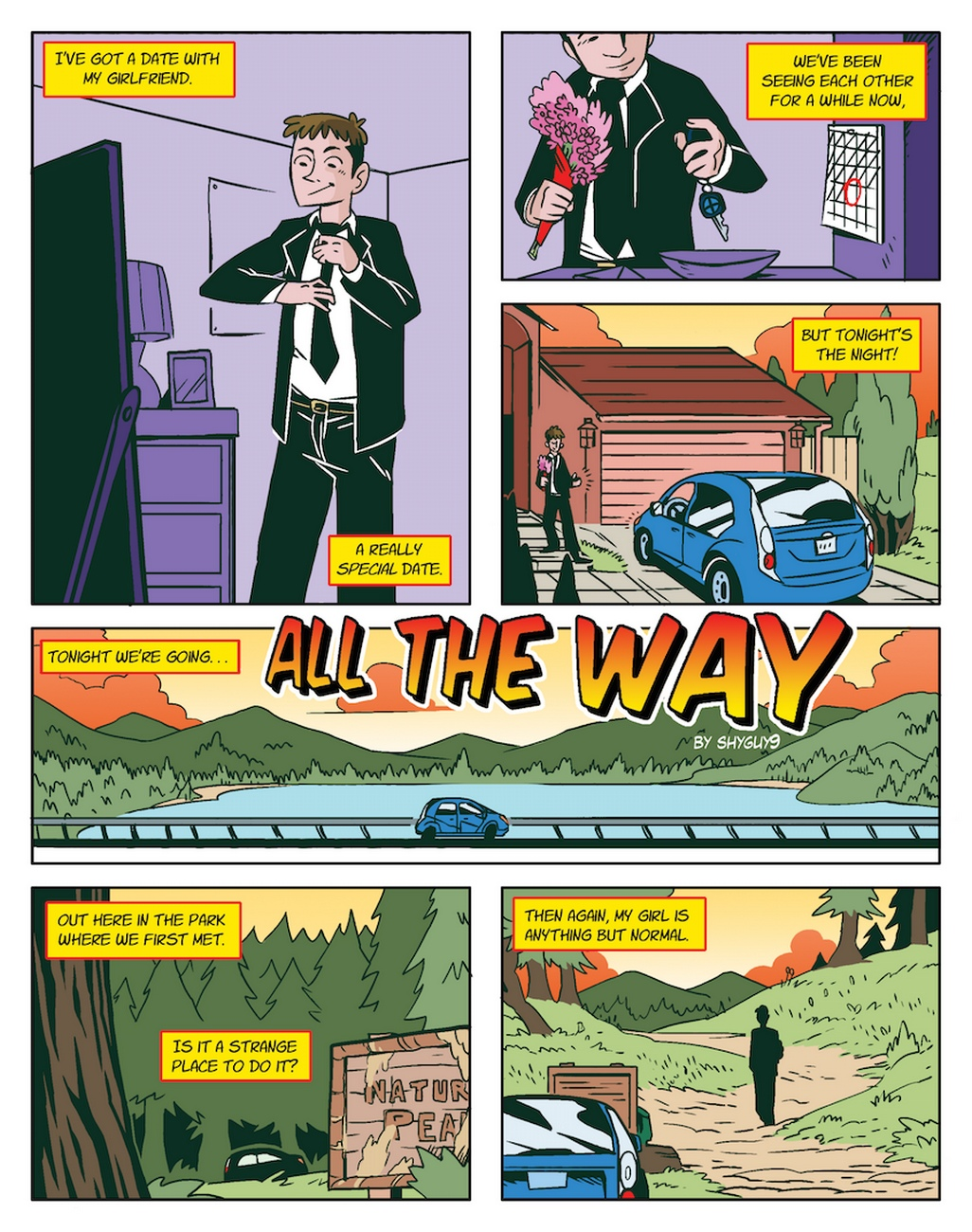 All-The-Way 2 free sex comic