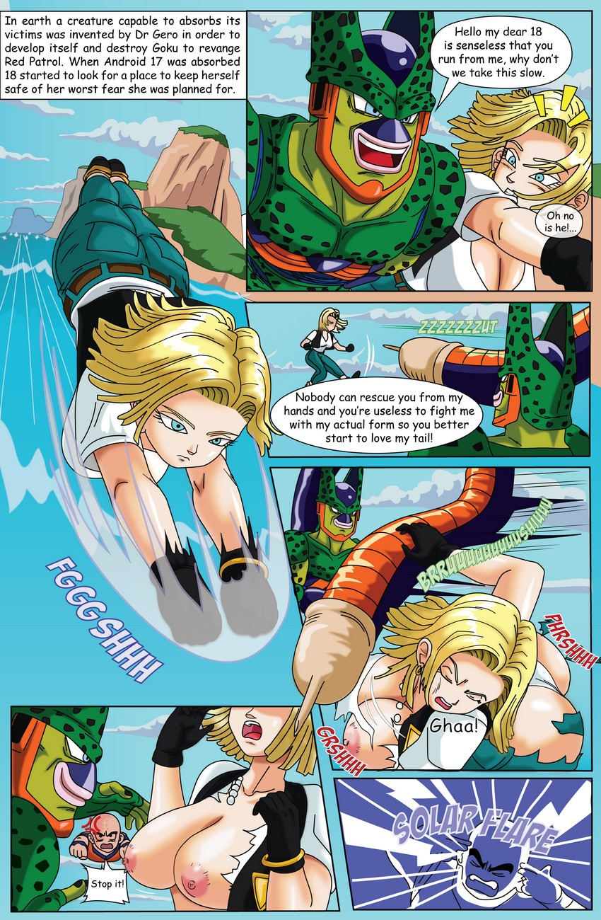 Android Girl 3D Porn Hentai android 18 goes inside cell comic porn - hd porn comics
