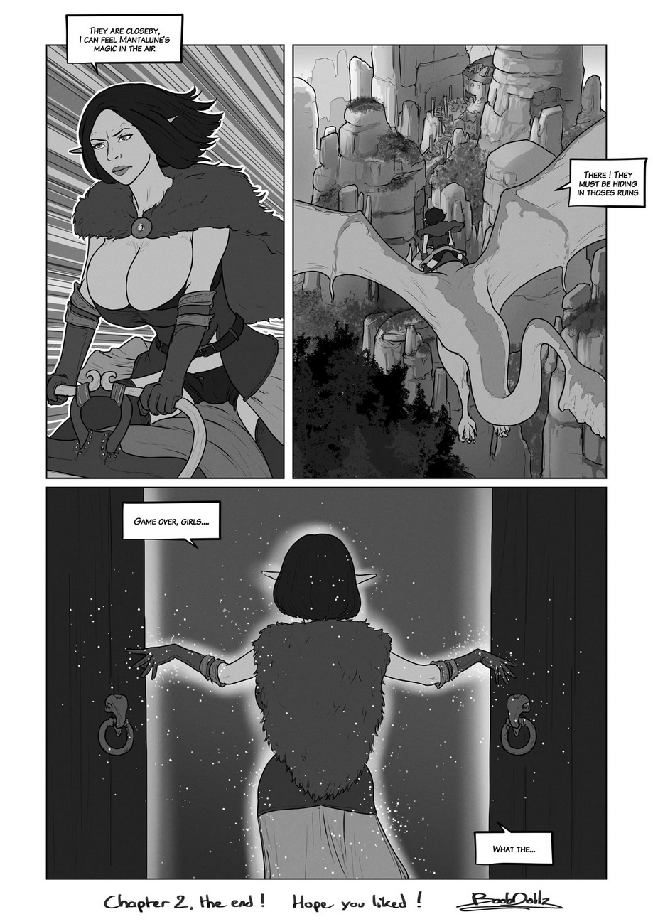 Andromeda 2 – The Curse comic porn