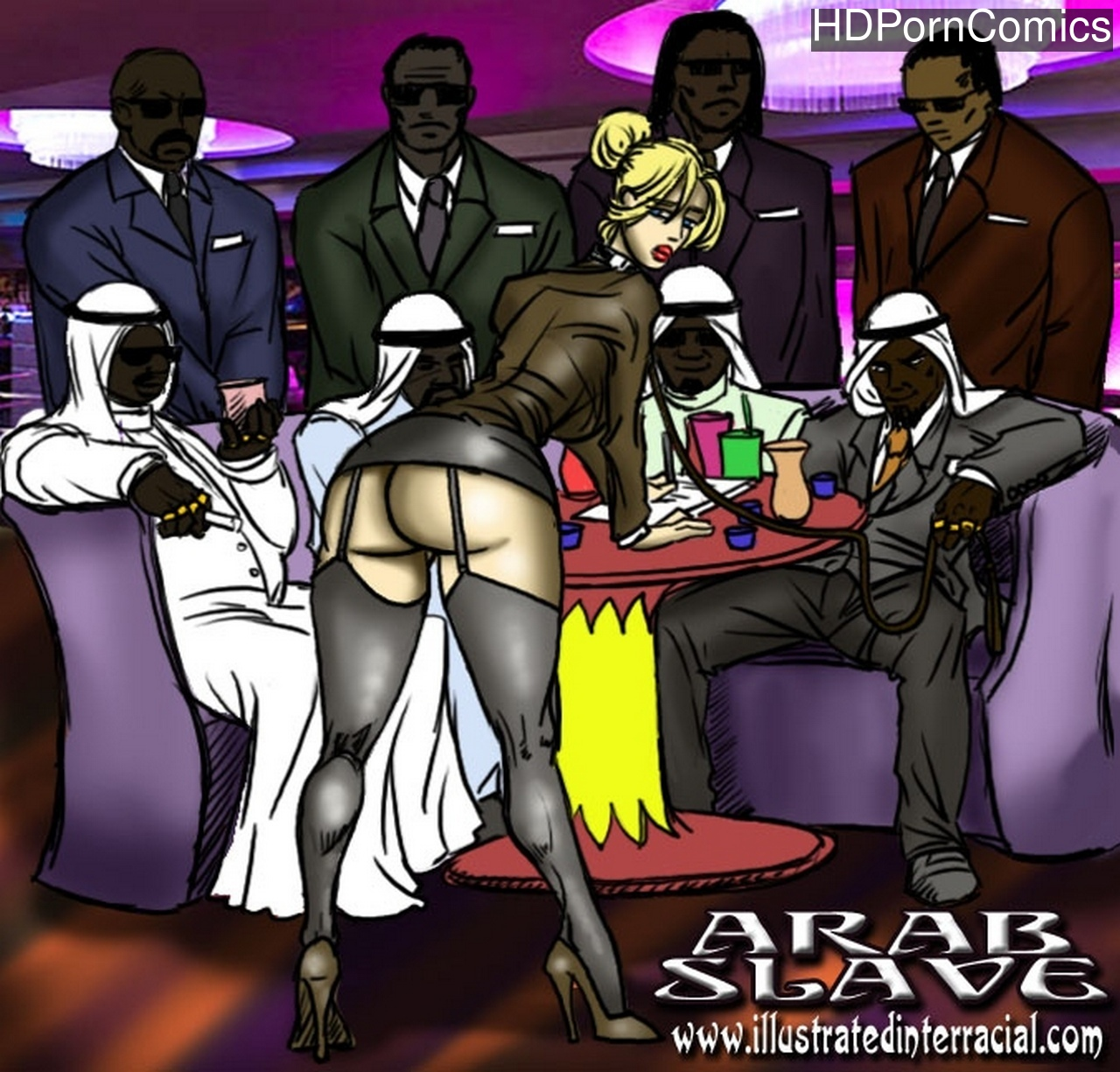 Arab-Slave 1 free porn comics