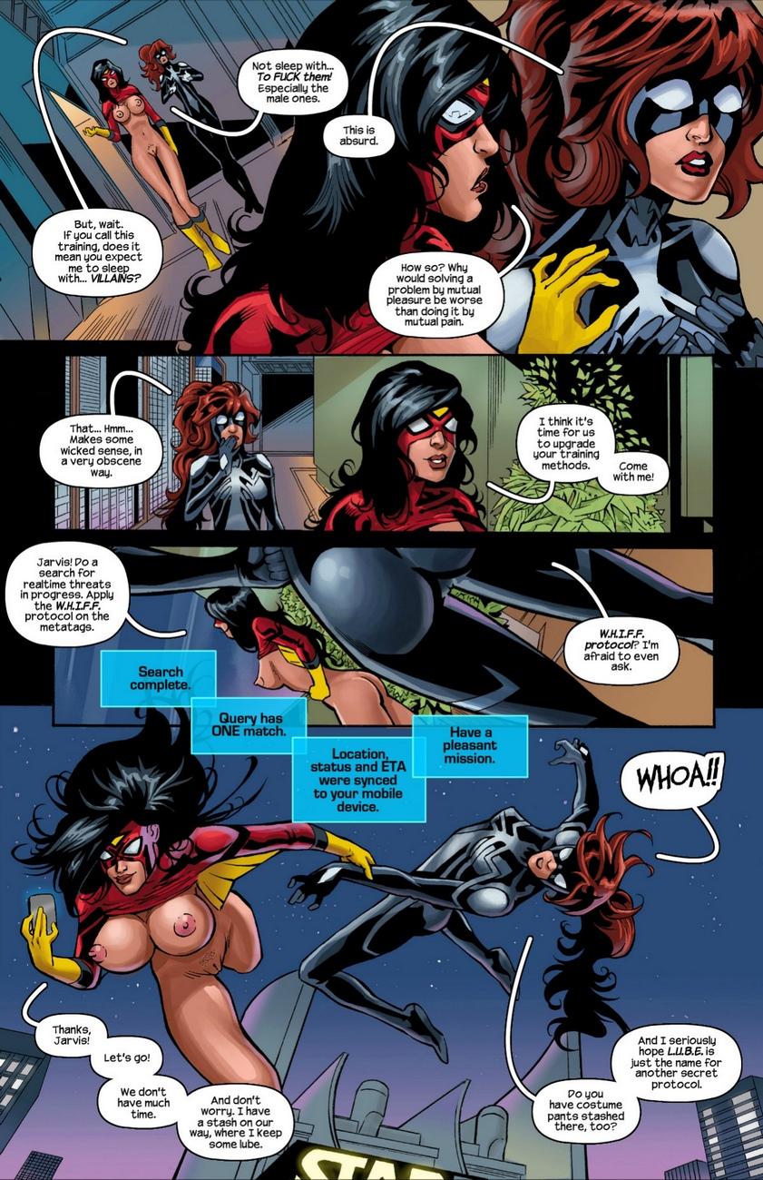 Arachnids-Assemble 4 free sex comic