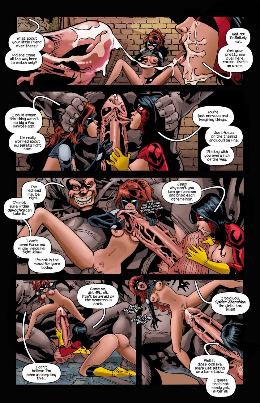 Arachnids-Assemble 7 free sex comic