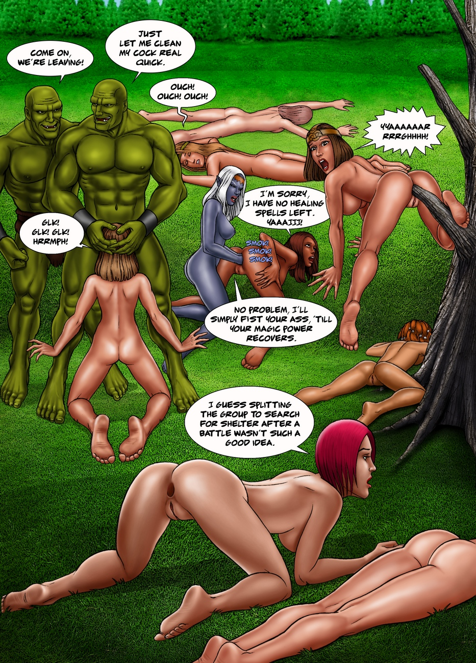 Baldur's Gape – Ogres Assfuck Their Enemies Dry comic porn