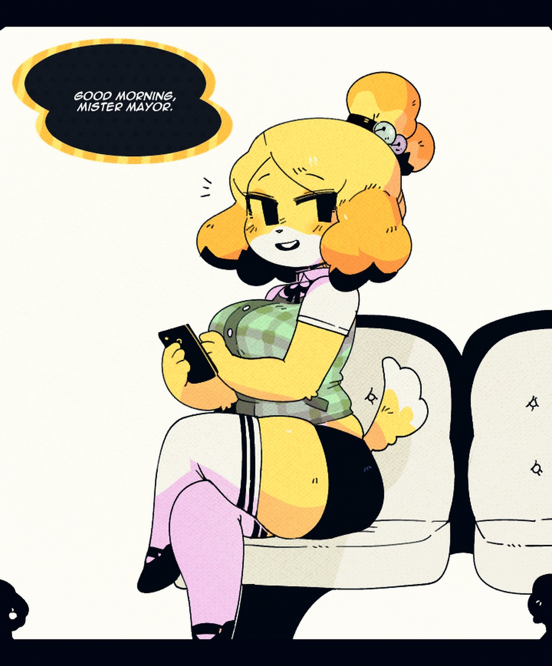 Animal Crossing Isabelle Tentacle Porn belle works - secretary edition comic porn - hd porn comics