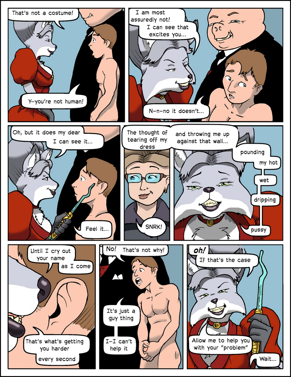 Bespoke-Companions 9 free sex comic