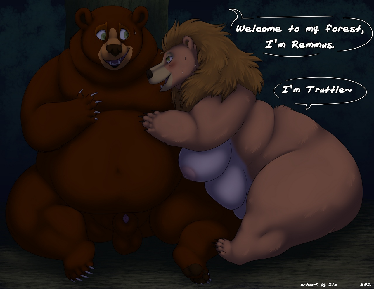 Beware Of Bear comic porn