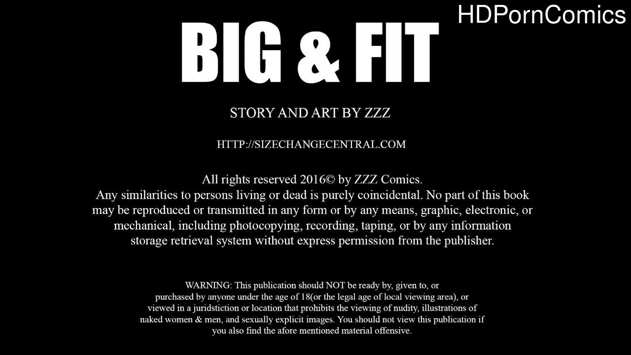 Big & Fit 1 comic porn
