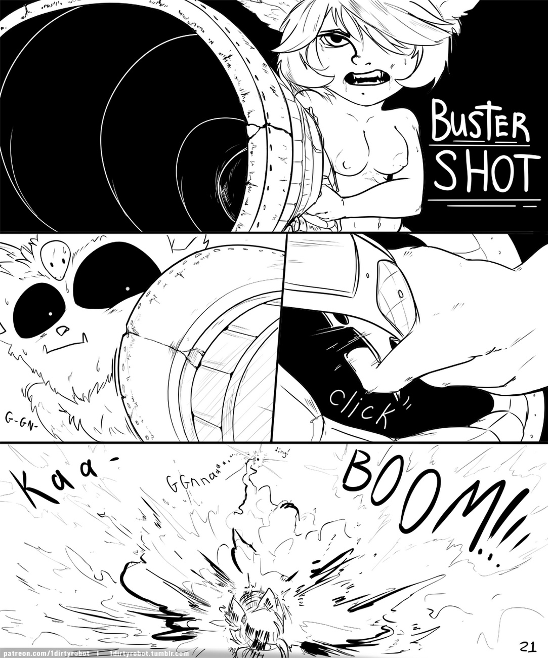 Big Trouble In Little Yordle comic porn